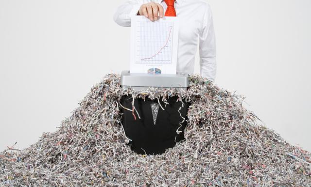 Акт об уничтожении документов: образец